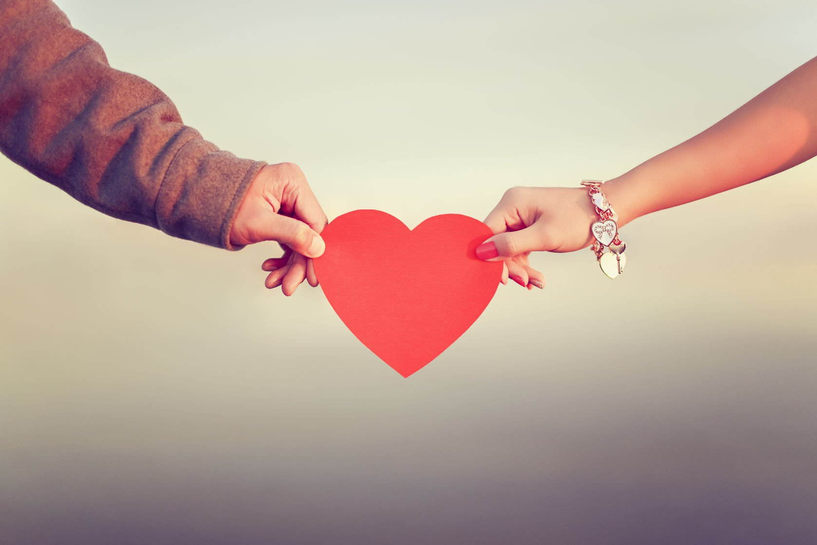 two hands and a heart